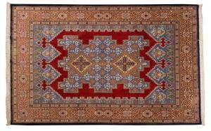 Rara alfombra de Teherán de gran calidad.
