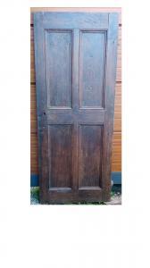 porta in castagno