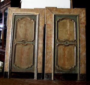 ptl228 par de portas lacadas, '600 mis. 120 x 222