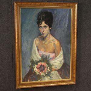 Dipinto ritratto di dama
