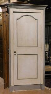 pts726 - пара дверей из лакированного тополя, l 93,5 xh 221 см