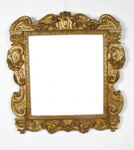 """雕刻和镀金木威尼托或托斯卡纳的"""" Sansovino""""框架,十六世纪"""