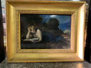 Dipinto di Jean-Jacques Henner dell'800