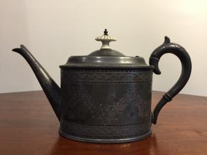 Victorian teapot - end of 800 - English