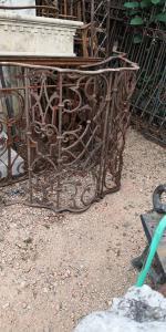 Balkon aus Eisen