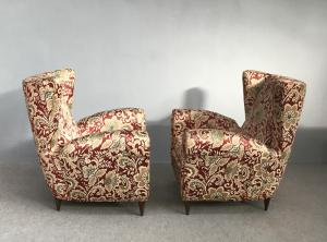 Pair of armchairs attributed to Paolo Buffa
