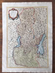 Carta di Brescia di Santini 1777