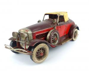 Car in tin and iron - AS / 1007