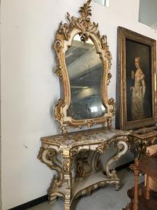 Consolles con specchio 135x58x100h 195125 specchio