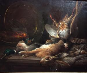 dipinto oilo su tela cm 63 x 77
