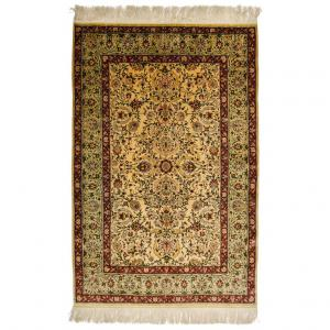 Pure Silk Carpet or Rug Keissary