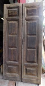 pte084 - porta em lariço, L 120 x 243 cm
