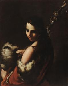 Bartolomeo Schedoni, San Giovannino, olio su tavola