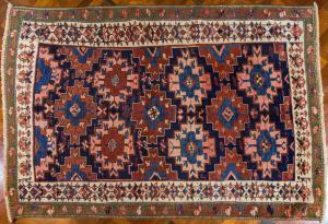 Tappeto antico Kazac  in lana