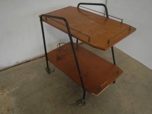 carrello porta vivande anni 60