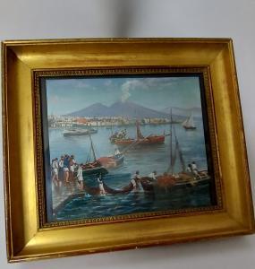 Gouache Napoli seconda metà 800