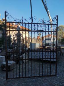 portão de ferro antigo