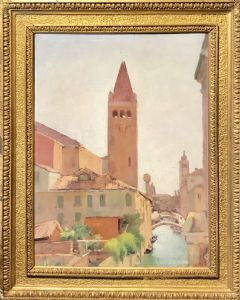Veduta di Venezia - Rio San Barnaba