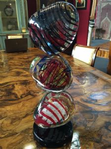 Sculpture Murano signed 65h