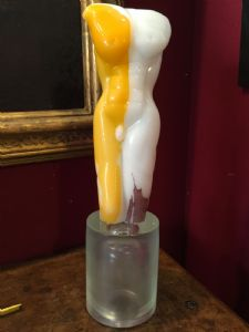 Sculpture Murano signed 55h