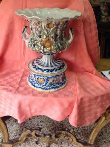 Майолика ваза девять