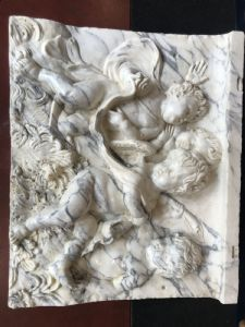 Altorilievo in marmo 100x83