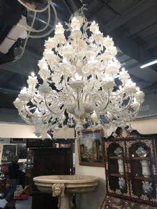 Grande lampadario di Murano 190x250h