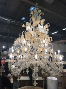 Lampadario Murano 170x130