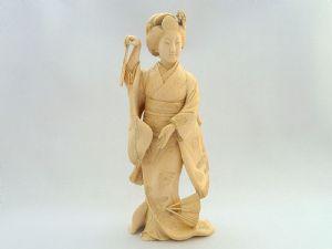 Okimono Geisha danzatrice