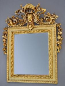 Mirror with the effigy of Bacchus
