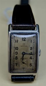 Rare and elegant watch brand Omega-shaped stainless steel Staybrite 30s of '900
