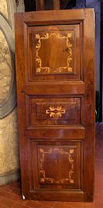 pan114 panel inlaid walnut, mis. 156 x 62 cm