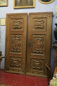 Pure Piedmontese baroque door