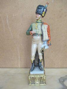 瓷俑兵签署布鲁诺Merli  - 轻骑兵 - 卡波迪蒙蒂