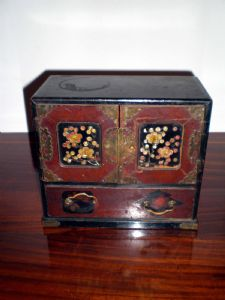 model Box Japanese moneyer
