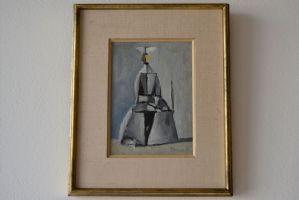 DUILIO BARNABÈ (Bologna 1914 / Alpi Francesi 1961), UNA SUORA