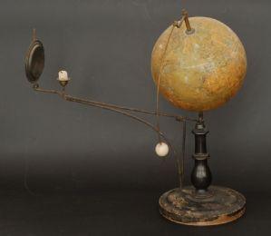 Rare Tellurian Globe, Jan Felkl, 1921