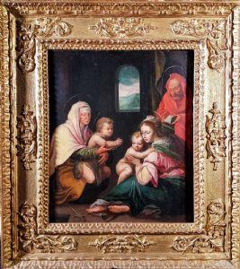 """""""Holy Family"""" Attributed to Sebastiano Filippi"""